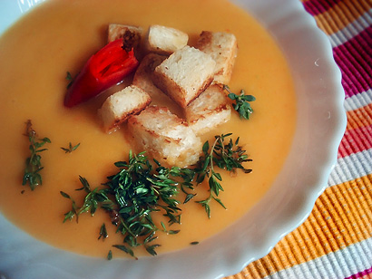 Root Veggie Cream Soup