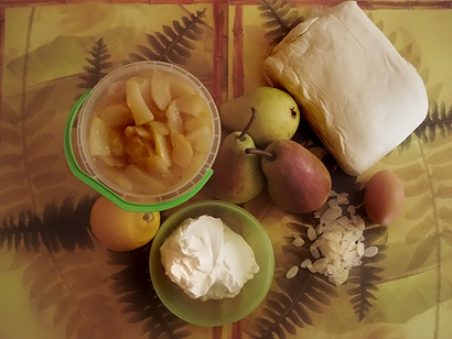 Pear Cake Ingredients