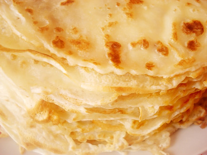Russian Blini (Pancakes)