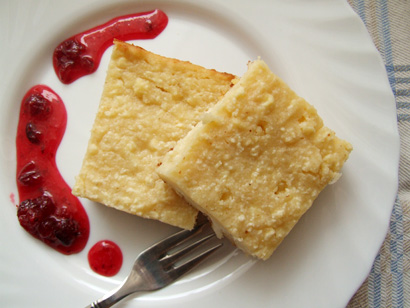 Simple Cottage Cheese Cake
