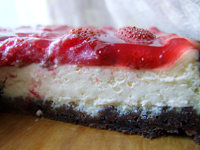 Strawberry Glazed Cheesecake