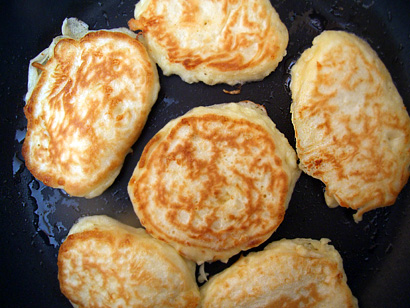 Chese pancakes