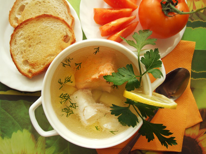 Ukha (Russian Fish Soup)