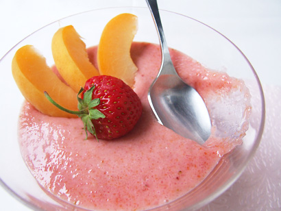 Strawberry Apricot Pudding