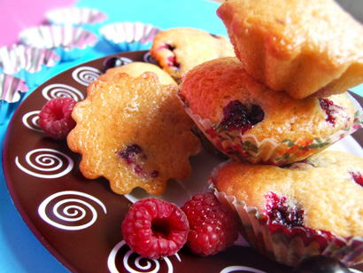 Yogurt Summer Berry Muffins