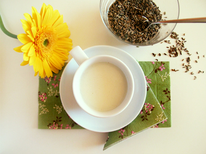 Caraway drink for lactation