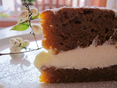 Cold Pumpkin Cake