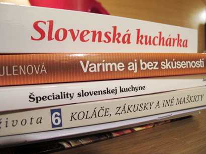 Slovak cookbooks