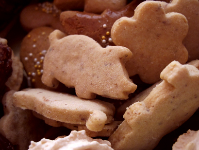 Slovak Christmas shortbreads