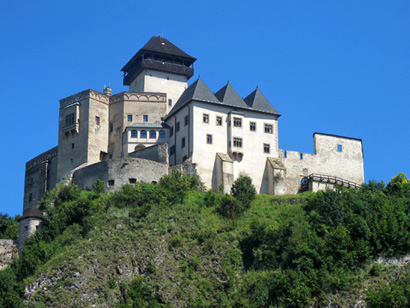 Trenčiancky hrad - the Trenčin Castle